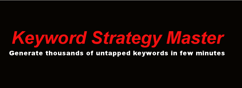 FOXE Keyword Strategy Master